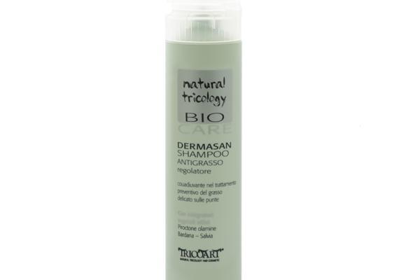DERMASAN Trychologiczny szampon antyłojotokowy normalizujący