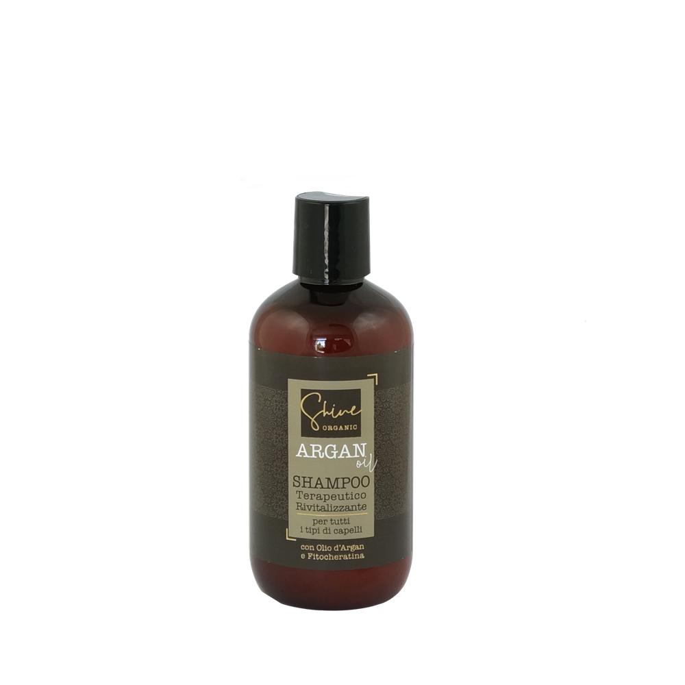 SHINE ORGANIC ARGAN OIL Terapeutyczny szampon arganowy z fitokeratyną